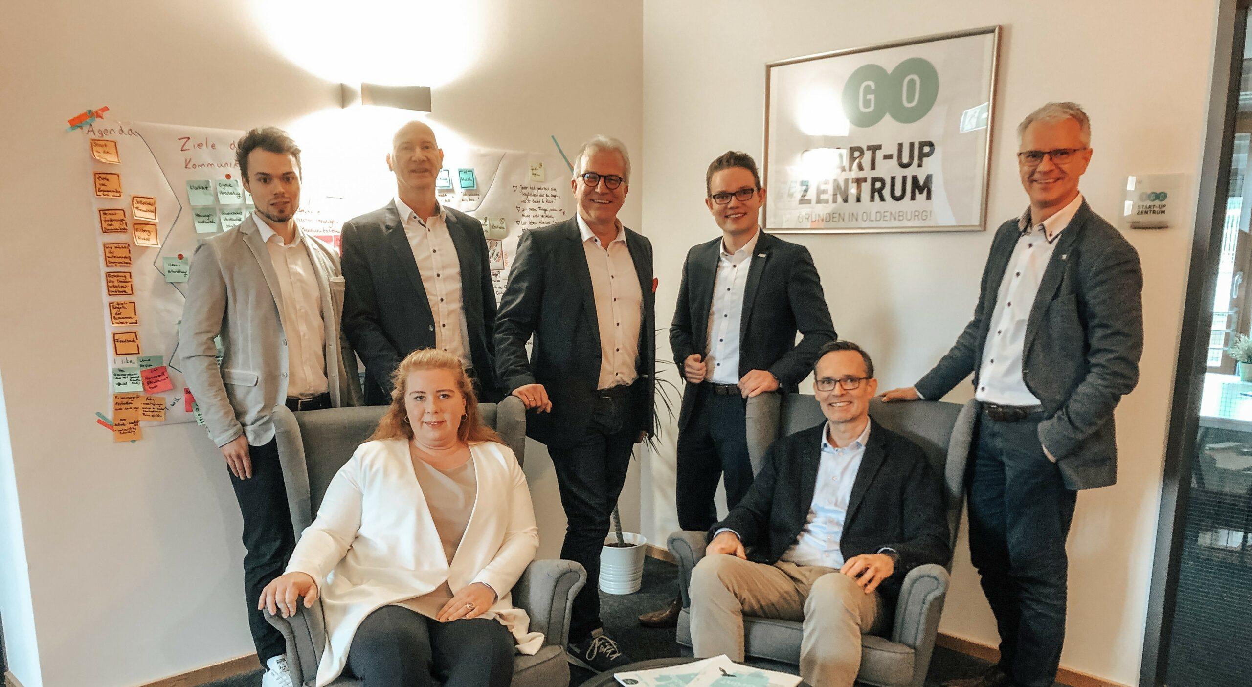 Das Team vom GO! Startup-Zentrum Oldenburg