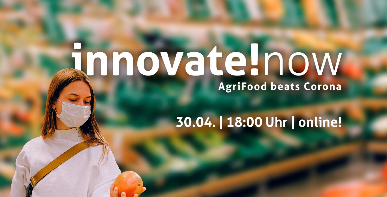 Flyer der Online-Konferenz innovate!now.