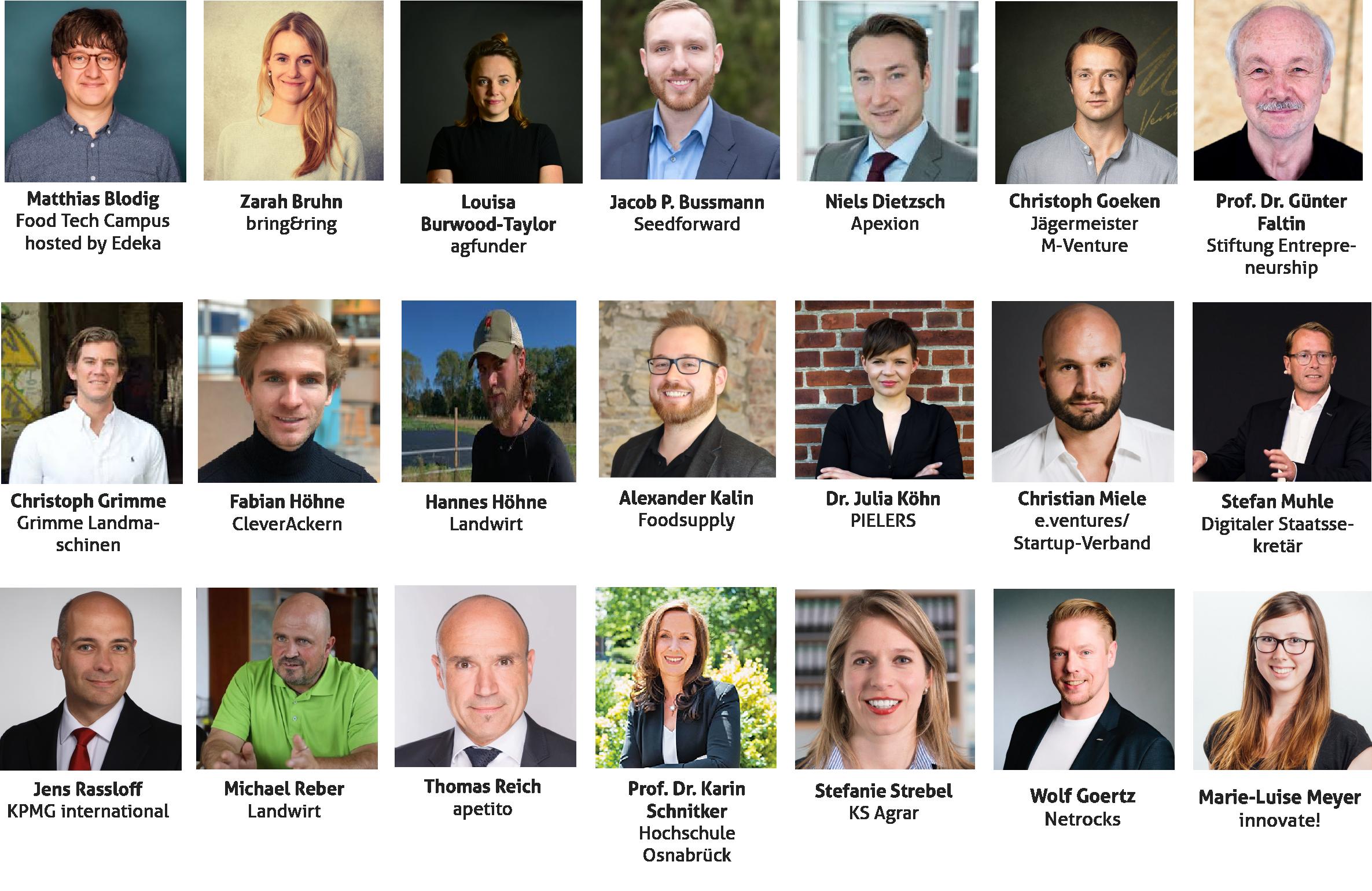 Das ist eine Lister aller Sprecher der Online-Konferenz innovate!now.