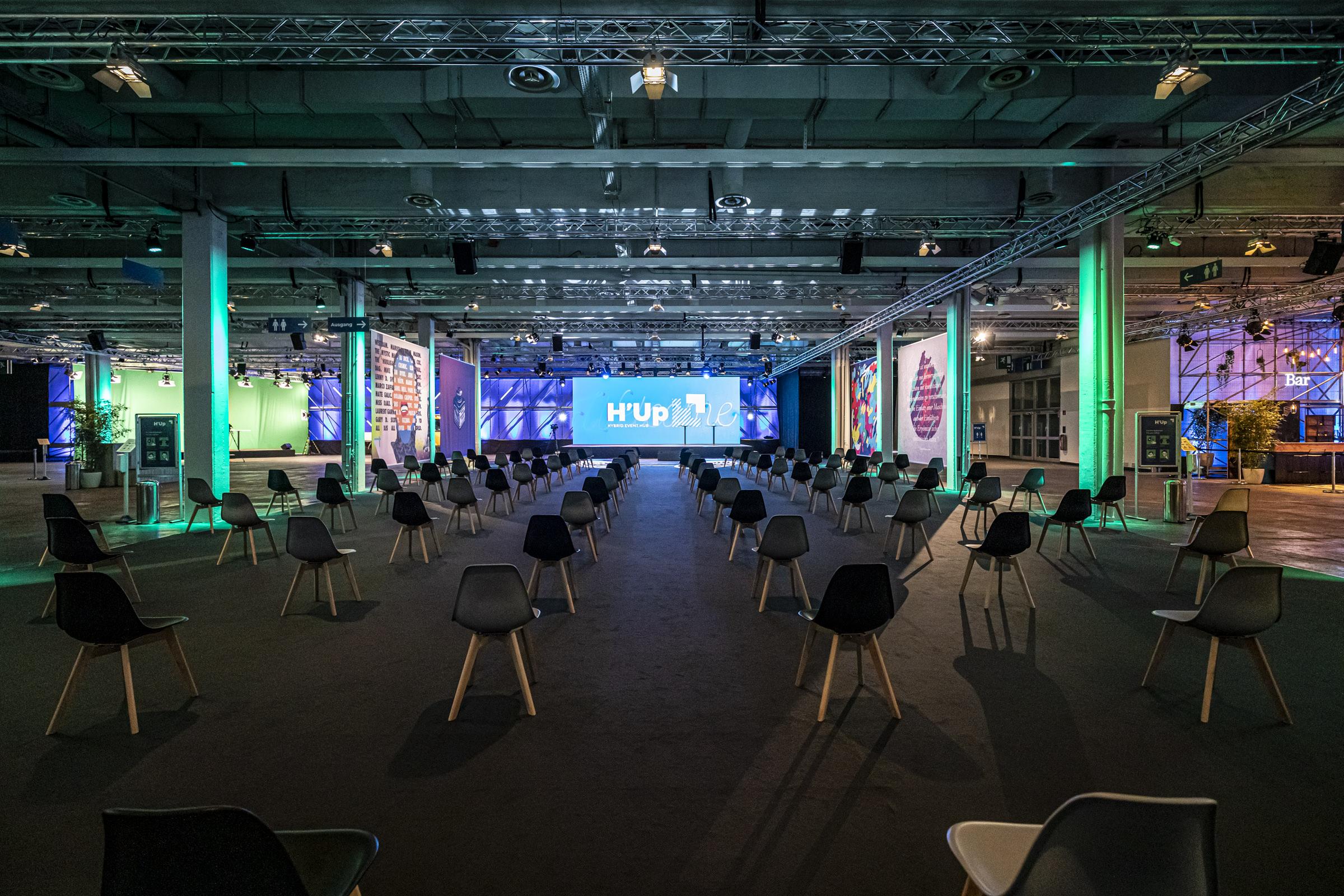 Das Bild zeigt den Veranstaltungsort der diesjährigen TECHTIDE.