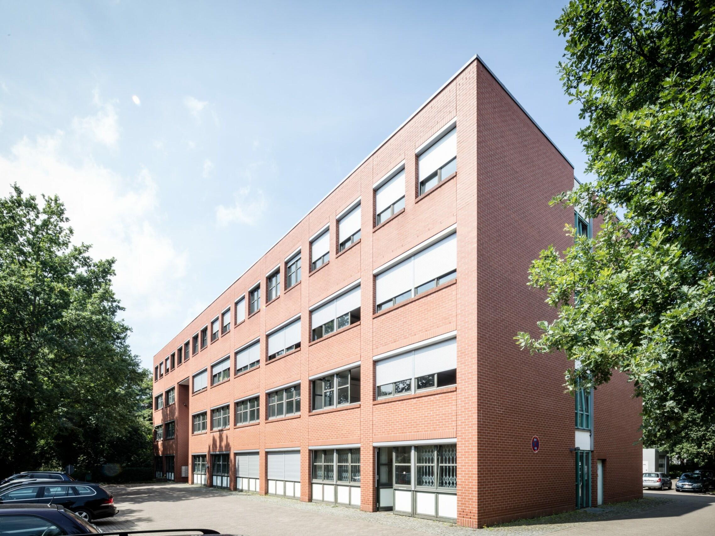 Gebäude Technologiepark von außen