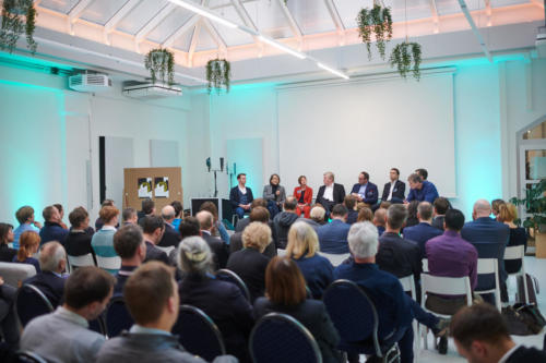 Life Science Startup Day 2020 Podiumsdiskussion Hauptbühne