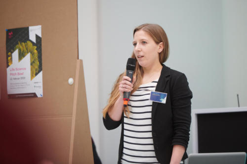 Viola Fühner stellt ihr Startup vor